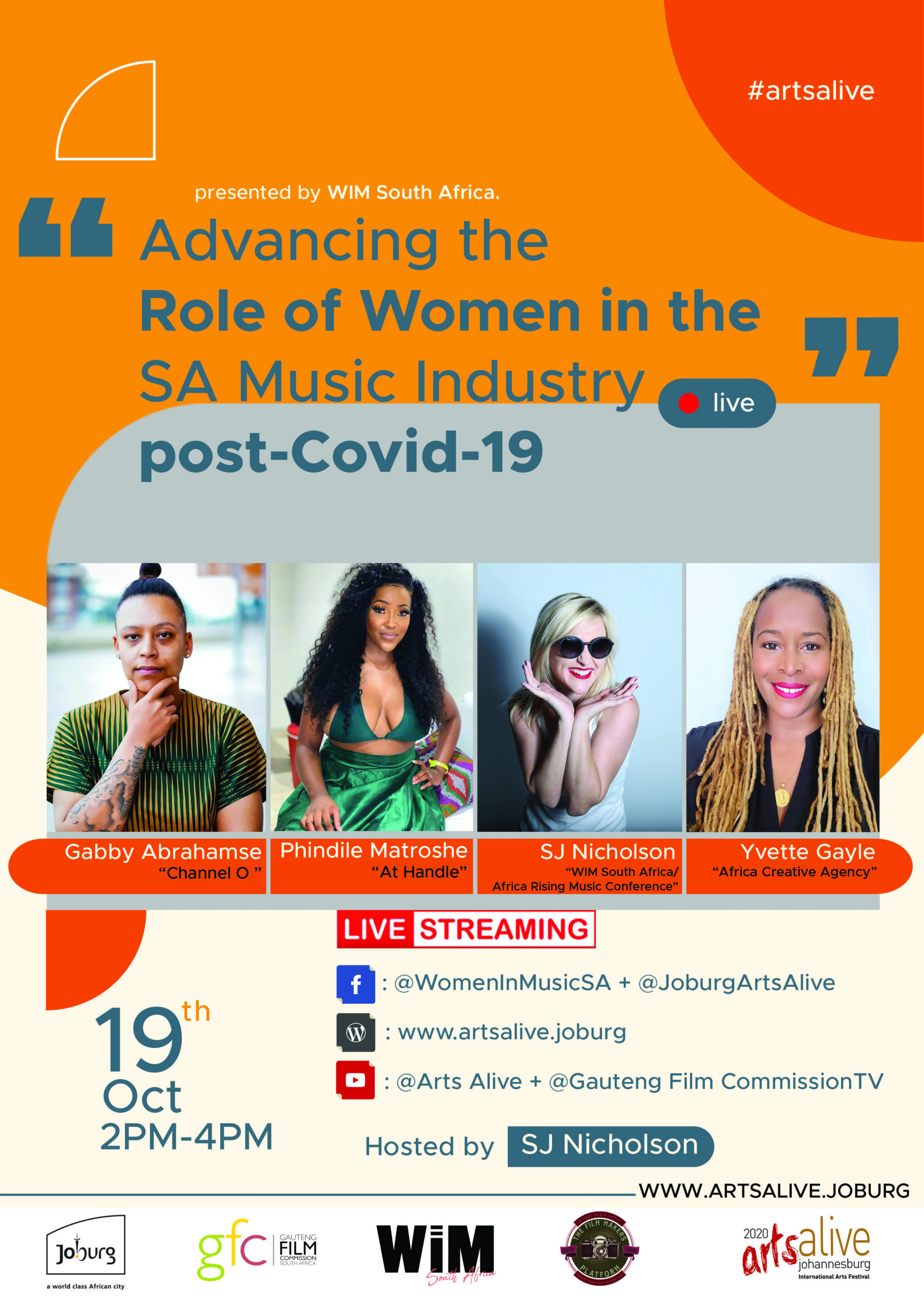 ADVANCING THE ROLE OF WOMEN IN THE SA MUSIC INDUSTRY POST-COVID19